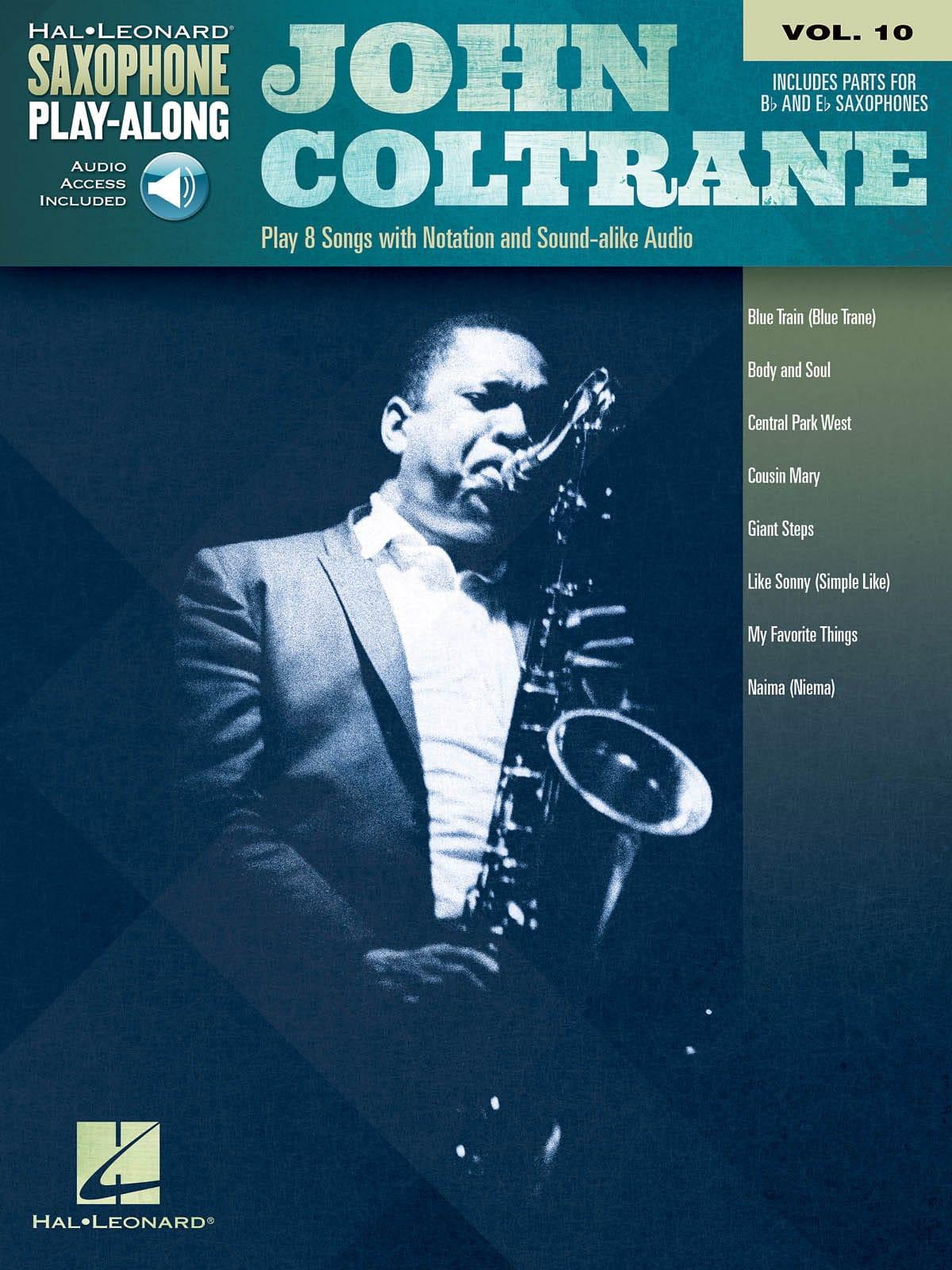 Saxophone Play-Along Volume 10 John Coltrane - laflutedepan.com
