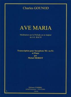 Ave Maria GOUNOD Partition Saxophone - laflutedepan