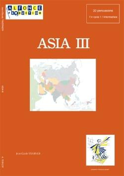 Asia III TAVERNIER Partition Ensemble de percussions - laflutedepan