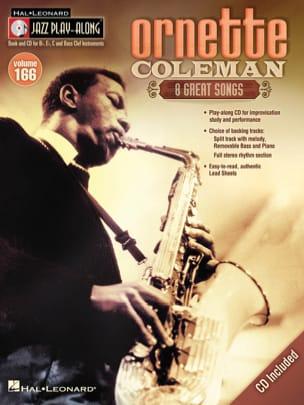 Jazz Play-Along Volume 166 - Ornette Coleman laflutedepan