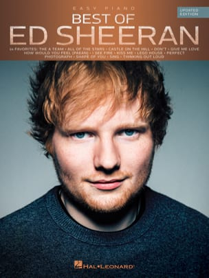 Best Of Ed Sheeran - Easy Piano - Updated Edition laflutedepan