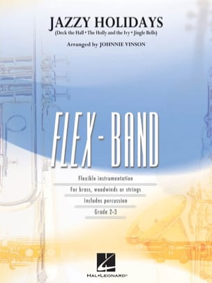 Jazzy holidays - FlexBand Traditionnel Partition laflutedepan