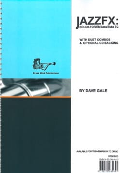 JazzFX for Eb Bass / Tuba Treble Clef Dave Gale Partition laflutedepan