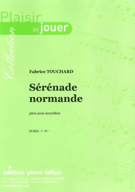 Sérénade normande - Fabrice Touchard - Partition - laflutedepan.com