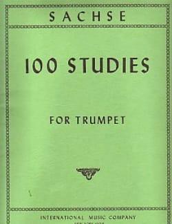 100 Studies Ernst Sachse Partition Trompette - laflutedepan