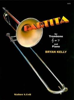 Partita Bryan Kelly Partition Trombone - laflutedepan
