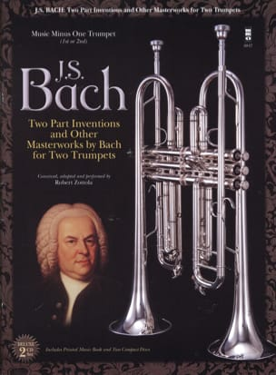 Two Part Inventions For Two Trumpets BACH Partition laflutedepan