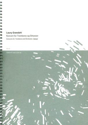 Concerto Launy Gröndahl Partition Trombone - laflutedepan
