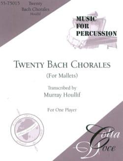 Twenty Bach Chorales For Mallets BACH Partition laflutedepan