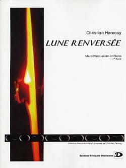 Lune Renversée Christian Hamouy Partition laflutedepan