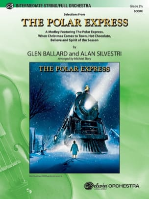 Selections from The Polar Express Alan Silvestri laflutedepan