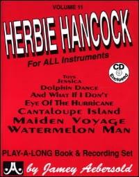 Volume 11 - Herbie Hancock METHODE AEBERSOLD Partition laflutedepan