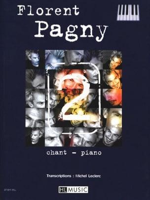 Songbook 2 Florent Pagny Partition Chanson française - laflutedepan