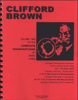 Complete Transcriptions, Volume 2: Max Roach & Clifford Sessions - laflutedepan.com