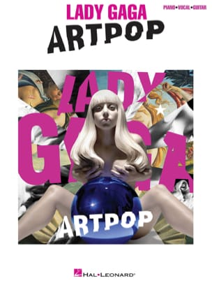 Artpop Lady Gaga Partition Pop / Rock - laflutedepan