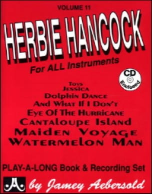 Volume 11 - Herbie Hancock - METHODE AEBERSOLD - laflutedepan.com