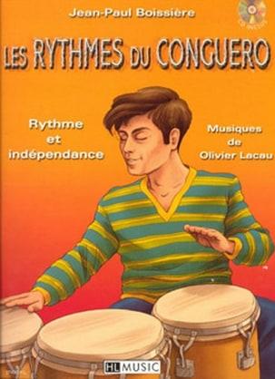 Les Rythmes du Conguero Jean-Paul Boissière Partition laflutedepan