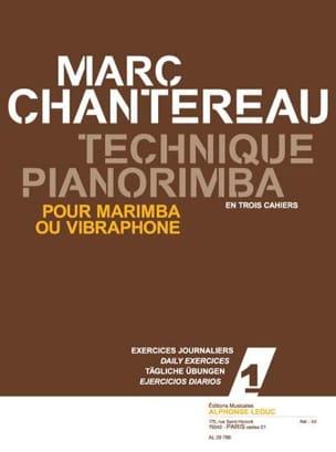 Marc Chantereau - Pianorimba Technique Workbook 1 - Daily Exercises - Partition - di-arezzo.co.uk