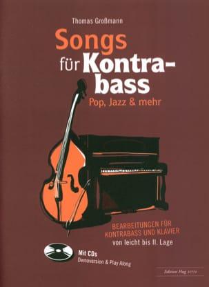 Songs für Kontrabass - Rock, Pop, Jazz avec 2 CDs laflutedepan
