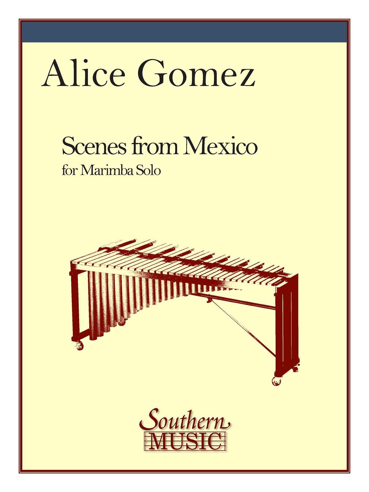 Scenes From Mexico - Alice Gomez - Partition - laflutedepan.com