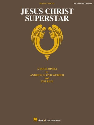 Andrew Lloyd Webber - Jesus Christ Superstar Rock Opera - Partition - di-arezzo.co.uk