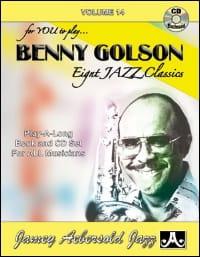 Volume 14 - Benny Golson METHODE AEBERSOLD Partition laflutedepan