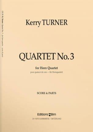 Quartet N° 3 Kerry Turner Partition Cor - laflutedepan