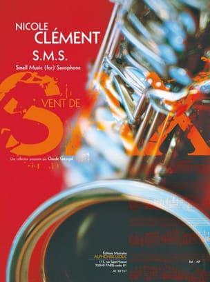 S.M.S. Nicole Clément Partition Saxophone - laflutedepan