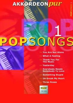 Akkordeon Pur - Pop Songs 1 Partition Accordéon - laflutedepan