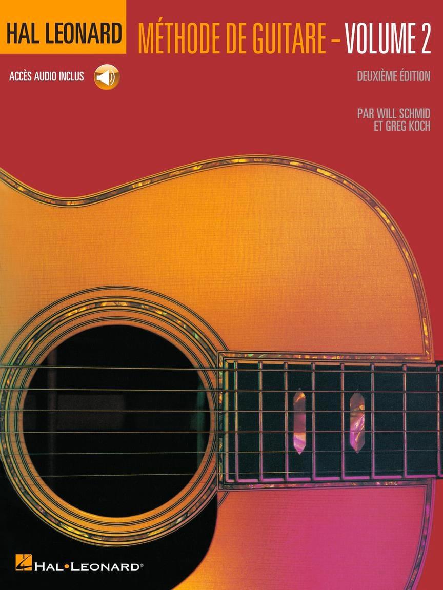 Méthode de Guitare Volume 2 - Deuxième Edition - laflutedepan.com