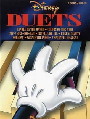 Disney Duets DISNEY Partition Piano - laflutedepan