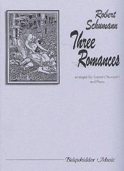 Three Romances SCHUMANN Partition Trompette - laflutedepan