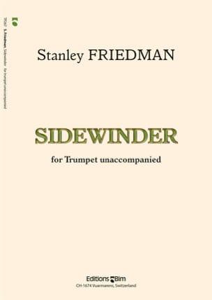 Sidewinder Stanley Friedman Partition Trompette - laflutedepan