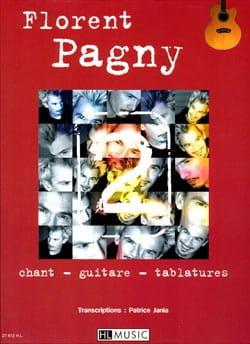 2. Guitare Florent Pagny Partition Chanson française - laflutedepan
