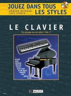 Jouez dans Tous les Styles Volume 1 - Le Clavier laflutedepan