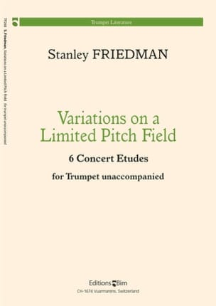 Variations On A Limited Pitch Field Stanley Friedman laflutedepan