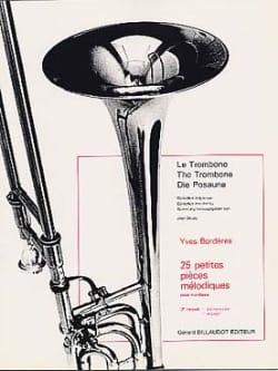 25 Petites Pieces Mélodiques Volume 3 Yves Borderes laflutedepan