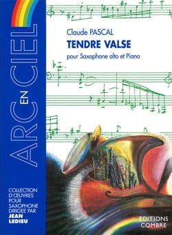 Tendre Valse Claude Pascal Partition Saxophone - laflutedepan