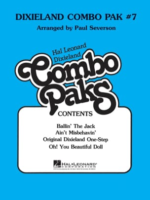 Dixieland Combo Pak # 7 Partition ENSEMBLES - laflutedepan
