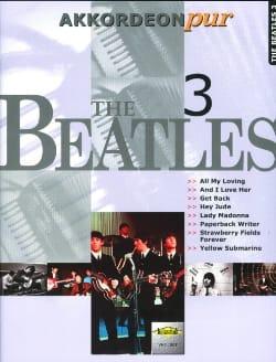 Akkordeon Pur - The Beatles 3 BEATLES Partition laflutedepan