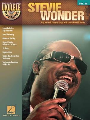 Ukulélé Play-Along Volume 28 - Stevie Wonder laflutedepan