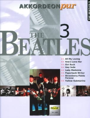 Akkordeon Pur - The Beatles 3 - BEATLES - Partition - laflutedepan.com