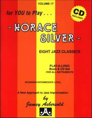 Volume 17 avec 2 CDs - Horace Silver METHODE AEBERSOLD laflutedepan