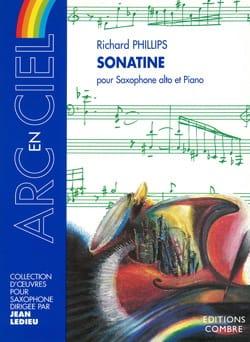Sonatine Richard Phillips Partition Saxophone - laflutedepan