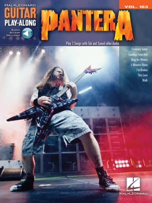 Guitar Play-Along Volume 163 - Pantera laflutedepan