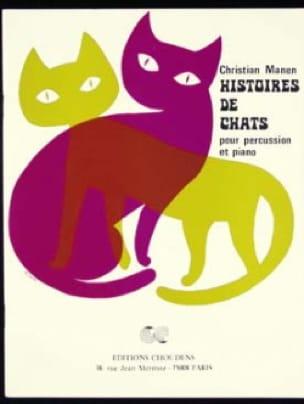 Histoires de Chats - Christian Manen - Partition - laflutedepan.com