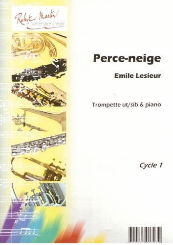 Perce-Neige - Emile Lesieur - Partition - Trompette - laflutedepan.com