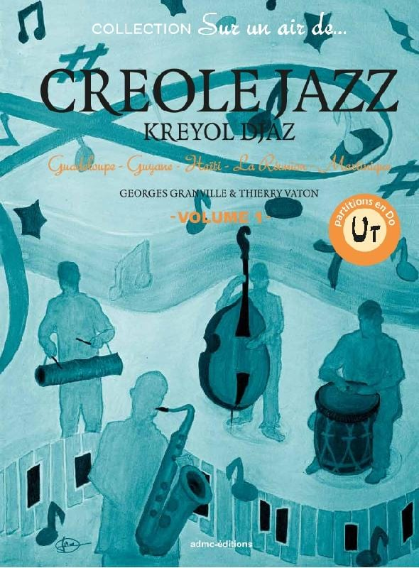 Créole Jazz - Volume 1 en Ut - laflutedepan.com