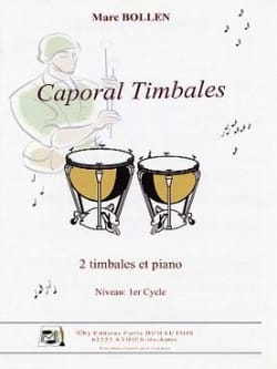 Caporal Timbale Marc Bollen Partition Timbales - laflutedepan