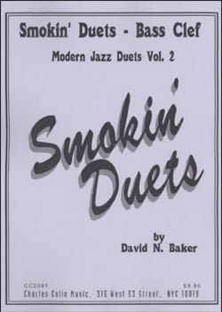 Smokin Duets Volume 2 - Bass Clef David N. Baker laflutedepan